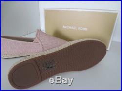 Michael Kors MK ESPANDRILLES BALLET Gr. 37,5 US 7 LOVE Schuhe neu