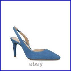 Michael Kors MK Lucille Flex Pale Blue Heels Sandals Shoes BNIB £110 UK 4.5