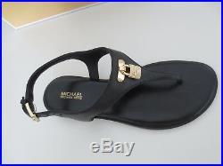 Michael Kors MK Sandalen Gr. 39 US 8,5 MIRA THONG BLACK Sandaletten Zehentrenner
