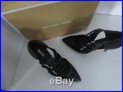 Michael Kors MK Schuhe MARTA Pumps Gr. 40 / 9M MK Leder Black Schwarz neu