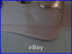Michael Kors MK Sneaker Gr. 38,5 / US 7,5 Leder SOFT PINK ROSE Sneakers Schuhe