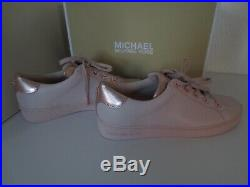 Michael Kors MK Sneaker Gr. 38 / US 7,5 Leder SOFT PINK ROSE Sneakers Schuhe