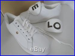 Michael Kors MK Sneaker LOVE Gr. 39 US 8 Leder weiß Sneakers Schuhe neu