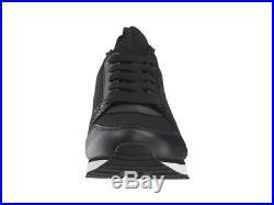 84db973b8 Michael Kors MK Women's Billie Knit Trainer Fabric Sneakers Shoes Black