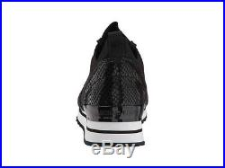 Michael Kors MK Women's Billie Knit Trainer Fabric Sneakers Shoes Black