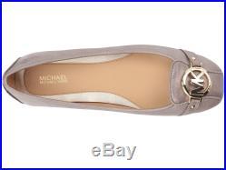 Michael Kors MK Women's Premium Designer Fulton Moccasin Flats Champagne