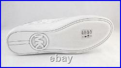 Michael Kors MK Womens Shoes Leather Snake Phyton Print Off Wh Gray US 10 EU 41