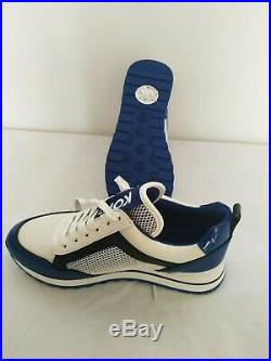Michael Kors Maddy Mesh Trainers in Sapphire Blue Size EU 37 UK 4