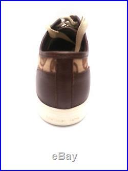 Michael Kors Mk Boerum Women's Sneakers Monogram Jacquard Mocha