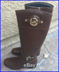 Michael Kors Mocha Stockard Riding Boots new Size 6.5