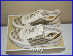 Michael Kors Monique Trainer Shoes Size 8.5