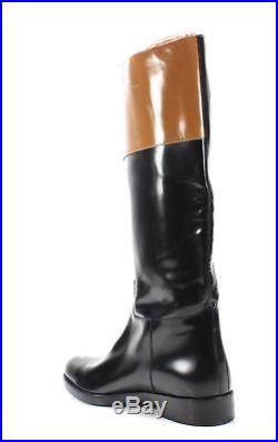 Michael Kors NEW Black Brown Women's Size 10M Two Tone Over Knee Boots $850 #991