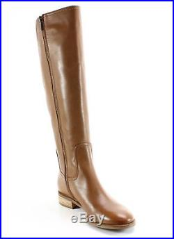 Michael Kors NEW Brown Womens Size 8.5M Leather Knee High Boots Shoes $295- #323