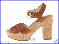 Michael Kors Natalia Platform Walnut Womens Sandal Open Toe Shoes Multisize
