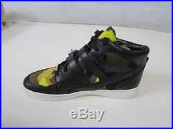 Michael Kors Robin Leather High-top Sneaker Size 5 Uk