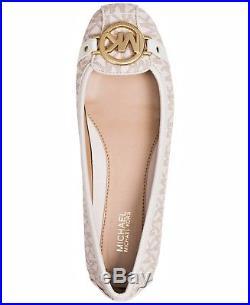 Michael Kors Schuhe/Ballerina Fulton Moc MK Signiature Vanilla Gr. 39 Neu