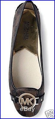 Michael Kors Schuhe/Ballerina Fulton Moc Signiature Braun Gr. 37 Neu