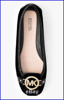 Michael Kors Schuhe/Ballerina Fulton Moc Velvet Black Gr. 39 Neu