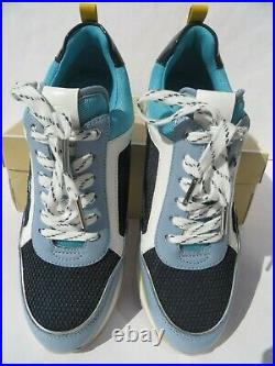 Michael Kors Shoes 8 Sneakers New Women's Maddy Trainer Navy/Plblue light 8M NIB
