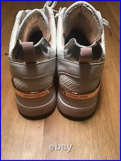 Michael Kors Shoes Trainers Crista Trainer Chain Mesh New Sz 11