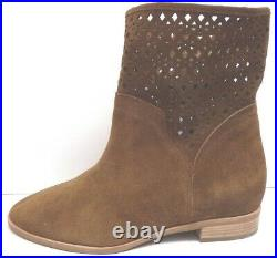 Michael Kors Size 8.5 Brown Leather Ankle Boots New Womens Shoes