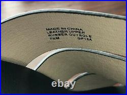 Michael Kors Somerly Mule Black Leather Shoes used 5 mins 7 1/2m 7.5