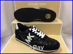 Michael Kors Stantonqui Black Women's Trainers Shoes, Size UK 4 / EUR 37