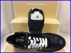 Michael Kors Stantonqui Black Women's Trainers Shoes, Size UK 5.5 / EUR 38.5