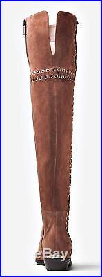 Michael Kors Stiefel Malin Grommet Overknee BOOT SUEDE NEU! Gr. 36,37,38,39,40
