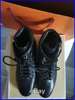 Michael Kors Stiefeletten Boots Schuhe Leder 325 schwarz NEU Gr. 40 10M aktuell
