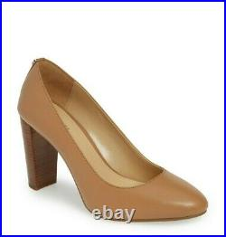 Michael Kors Susan Flex Pump Cashew Women's Slip On Heels Shoes Multisize