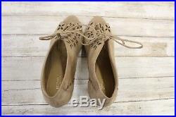 Michael Kors Thalia Bootie Women's Size 8M Beige