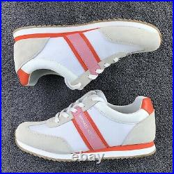 Michael Kors Trainer Sneakers Shoes Orange/Pink Size 9.5