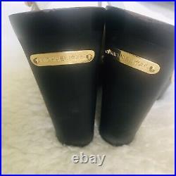 Michael Kors Wedge Platforms Patent Leather Sandals Shoes Size 9M