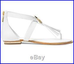 Michael Kors Winslow White Sandals Size 11