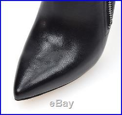 Michael Kors Woman Ankle Boot Black Code 40f6dwhe5l Dawson Bootie