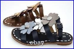 Michael Kors Woman Flat Sandals Shoes Leather Code 40s7kifa3l Kit Flat Sandal