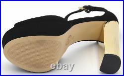 Michael Kors Woman High Heel Pumps Sandals Shoes Casual Velvet Paloma 40f8pahs1d