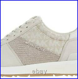Michael Kors Women's Allie Trainer Sneakers Shoes Champagne