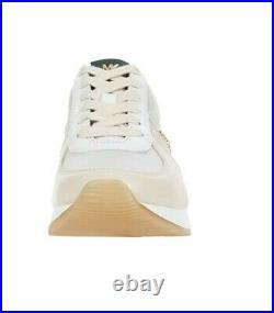 Michael Kors Women's Allie Trainer Sneakers Shoes Ecru Multi