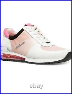 Michael Kors Women's Allie Trainer Sneakers Shoes Smokey Rose