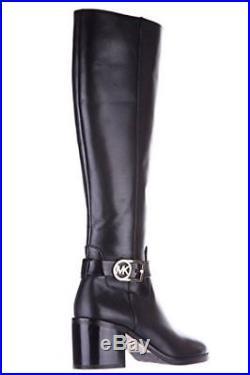 Michael Kors Women's Bryce Black Leather Boot