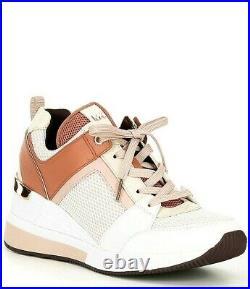 Michael Kors Women's Georgie Trainer Sneaker Shoes Soft Pink