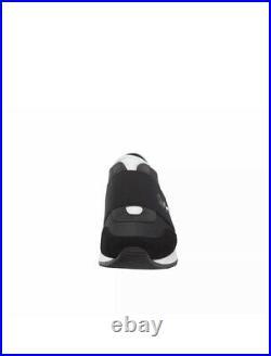 Michael Kors Women's MK Trainer Canvas Classic Sneakers Shoes Black NIB 9.5