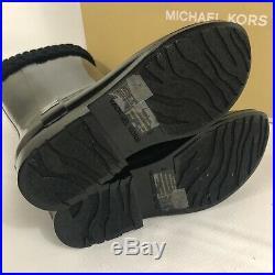 Michael Kors Women's Mandy Rain Boots Size 8 Black