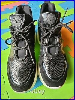 Michael Kors Women's Olympia Trainer Athletic Shoes US Size 8