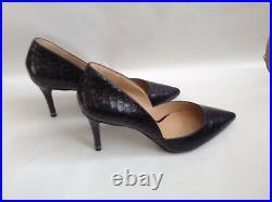 Michael Kors Women`s Shoes Black Animal Print Size 7.5UK