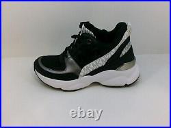 Michael Kors Women's Shoes Fashion Sneakers, Black, Size 6.5