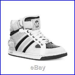 Michael Kors Women's Sneaker Fulton High Top Chalk White Sz 7.5 $295 NIB
