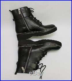 Michael Kors Womens Booties Shoes Ankle Boots Zip Black Vivia Size US 7 M
